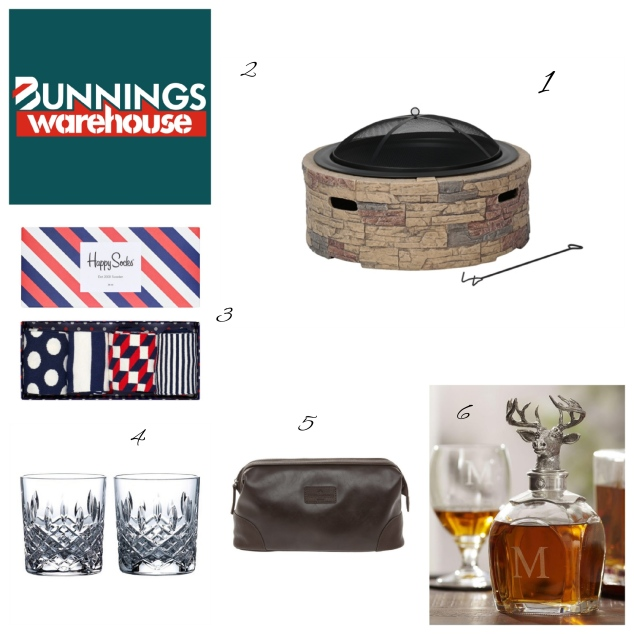 Mens things collage